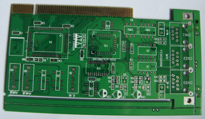 2 Layer HASL+Gold Finger PCB